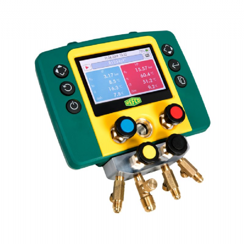 Refco Refmate Air Con Refrigeration Digital Manifold 4 Way